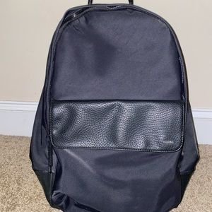 Calvin Klein black on black backpack